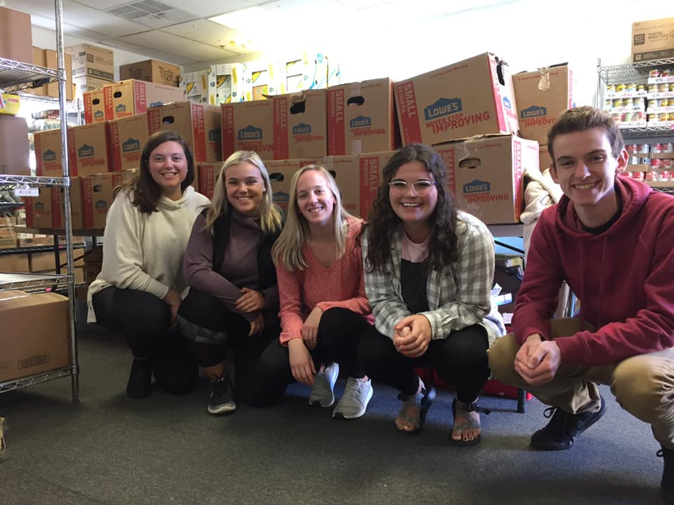 Ohio University Student Alumni Board Food Drive