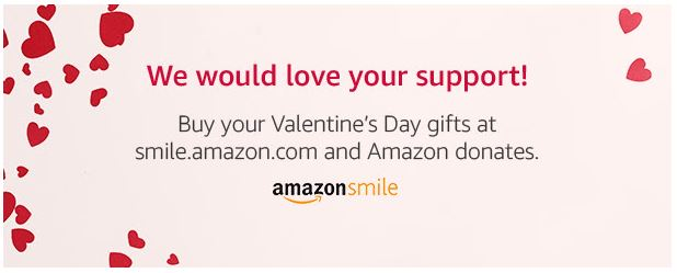 Support the Pantry this Valentine's Day when you shop AmazonSmile!