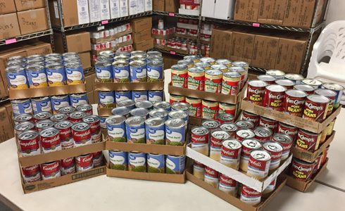 Walmart donation drive yields 1055 pounds of food