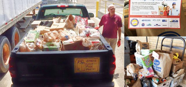 Athens letter carrier food drive a success!