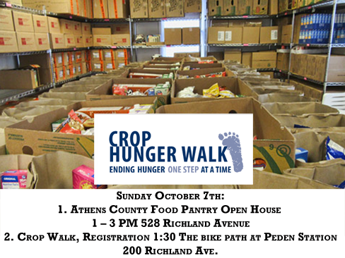 Crop Walk and Pantry Open House
