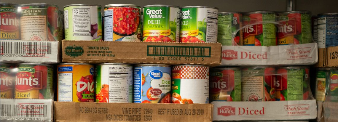 Some canned goods