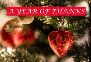 A Year of Thanks